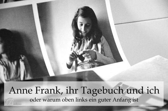 Anne Frank, ihr Tagebuch und ich - Titelbild