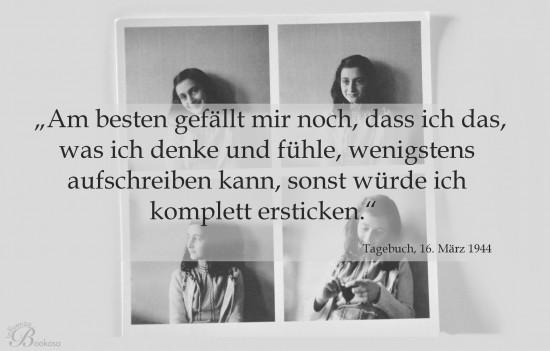 Anne Frank, ihr Tagebuch und ich - Zitat 2