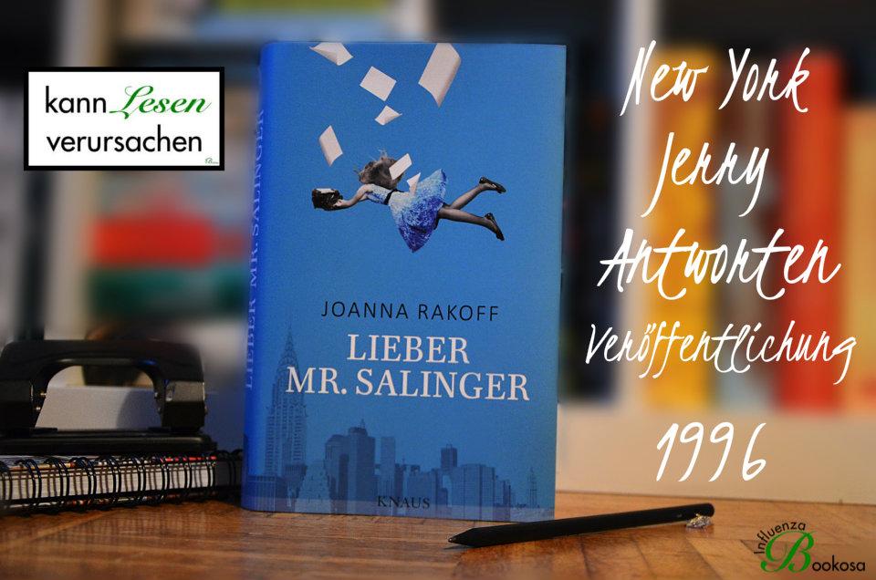 Joanna Rakoff - Lieber Mr Salinger